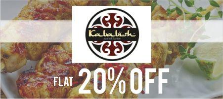 Kababish Flat 20% OFF!!!