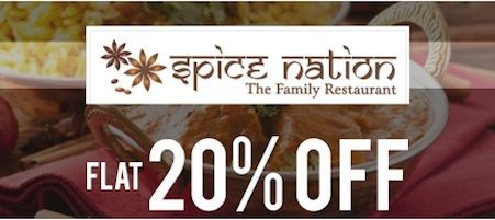 Yummy! Enjoy FLAT 20% OFF!